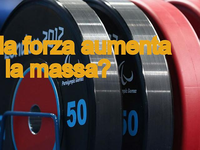 Allenamento forza nel bodybuilding serve per la massa? VIDEO