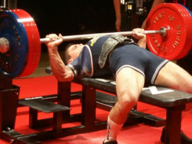 bench press e veri uomini...!
