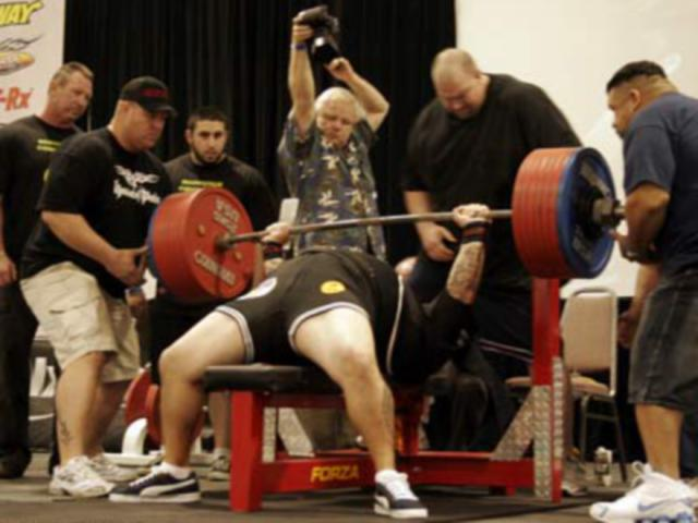 bench press level performance