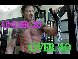 Bodybuilding dopo i 40 anni e under 20 VIDEO