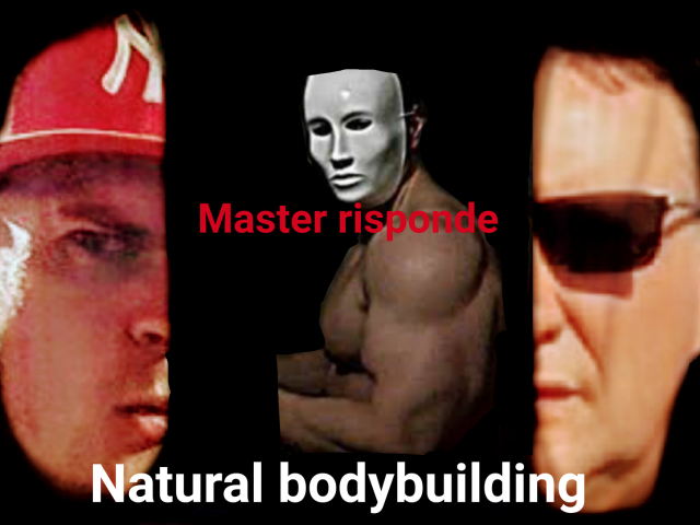 Bodybuilding natural master risponde VIDEO
