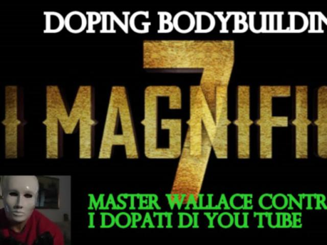 doping bodybuilding e la lotta di master wallace VIDEO
