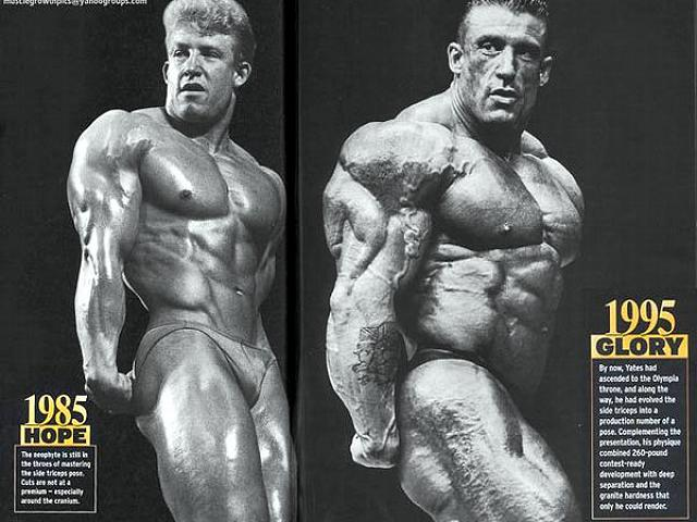 dorian yates training..inside..!