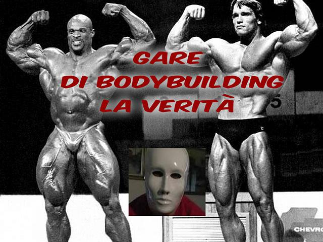 Gare natural di bodybuilding e verità mai dette VIDEO