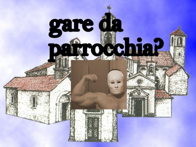 Gare natural bodybuilding da parrocchia? VIDEO