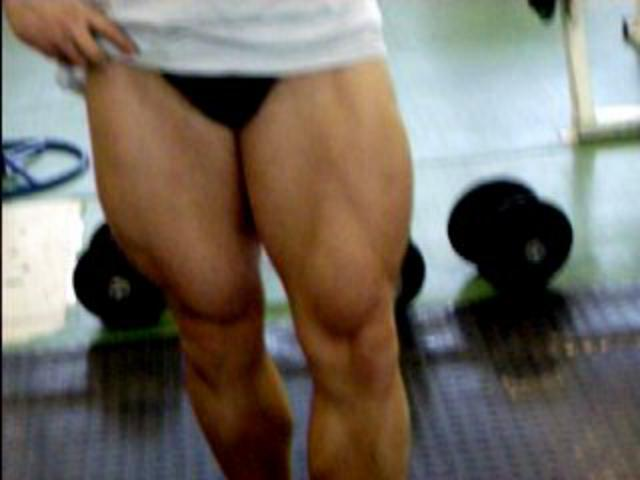 legs pre exaust advanced training...!