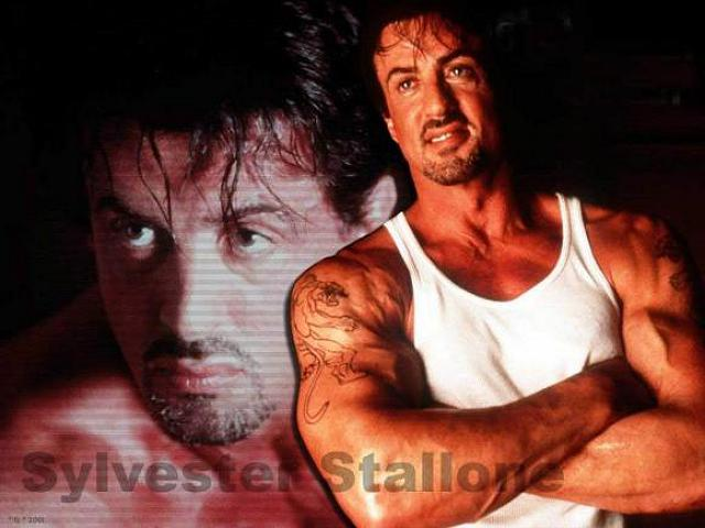 Sylvester Stallone Back Workout!